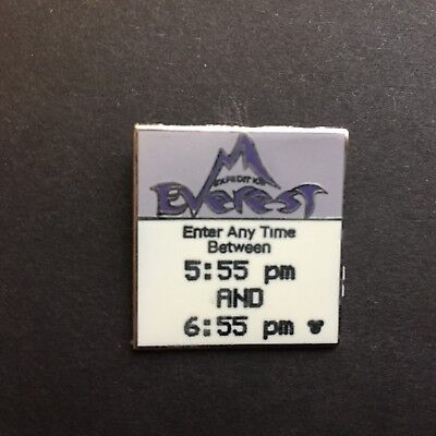 Hidden Mickey 2007 Series 2 Fast Pass Series Expedition Everest Disney Pin 58999