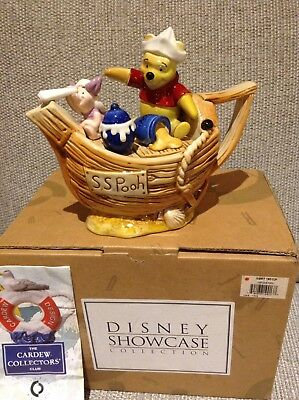 Cardew Collectable Novelty Teapot Disney Showcase S.s Pooh Boxed Perfect Condton