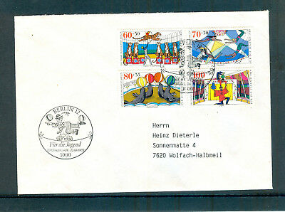Briefmarken Berlin FDC 838-841