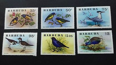 stamps Barbuda 1974 Rare Set of BARBUDA Birds Mint
