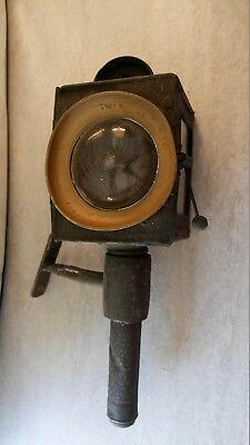 French Antique Coach Carriage Lamp with Bracket