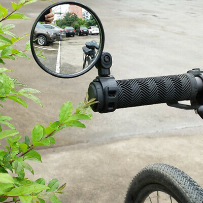 Rear View Bicycle Mirror Handlebar Motorcycle Looking Glass Bike Rearview