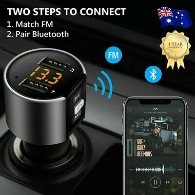 Bluetooth Car Kit FM Transmitter Handsfree Car Charger MP3 Player USB