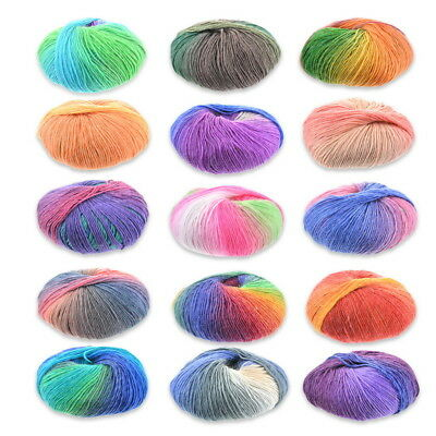 50g Baby Knitting Yarn Acrylic Wool Super Soft 15 Colours 1 Ply