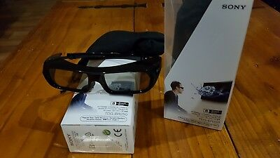 Sony Tdg-Br250 3D Active Glasses X 2 Pairs