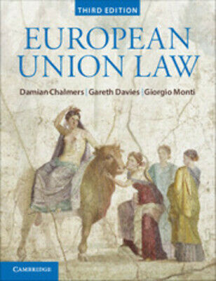 European Union law: text and materials by Damian Chalmers (Paperback / softback)