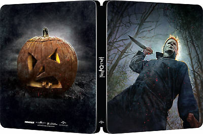Halloween Steelbook (2018) Blu Ray/ Import / Pre-Order / WORLDWIDE SHIPPING