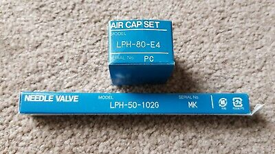 Iwata LPH80 Nozzle, Needle and Aircap Set - USED