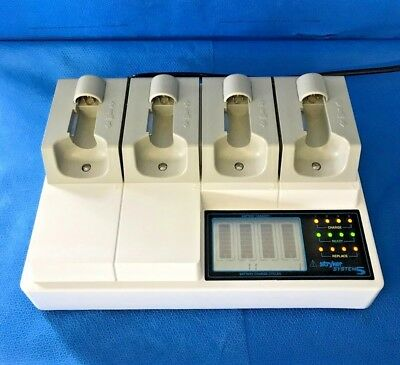Stryker 4110-120 System 5 Modular 4 Station Battery Charger, 30 Day Warranty