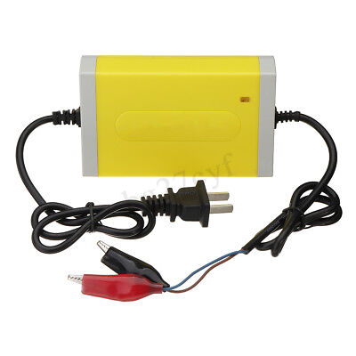 12V 2A 20Ah Car Motorcycle Smart Automatic Battery Trickle Charger Maintainer