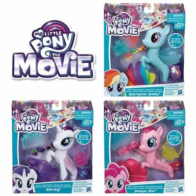 New My Little Pony The Movie Glitter & Style Seapony w/ Accessories MLP Official