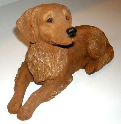 GOLDEN RETRIEVER(II) - SANDICAST  #375 NEW Almost PERFECT May/May not be retired
