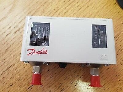 Danfoss KP15 HP/LP switch 060-1280 AKA 060-128066 Auto / Manaul reset