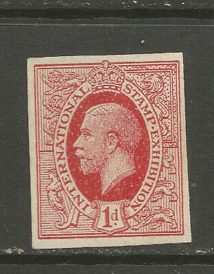 GB/UK London 1912 International Stamp Exhibition IDEAL STAMP (IMPERF)