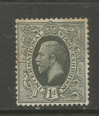 GB/UK London 1912 International Stamp Exhibition IDEAL STAMP (PERF)