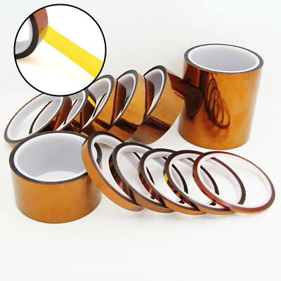 5-100mm 33M Heat Resistant Tape High Temperature Polyimide Kapton Fixatio Tape