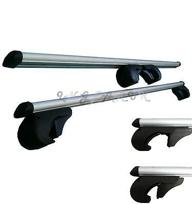 Universal Heavy Duty Aluminium Anti Theft Key Lockable Car Roof Rack Bars Rails