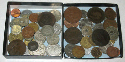 60+ Lot Of Assorted Foreign Coins! 1800s, 1900s to Present + Silver Coins! #5