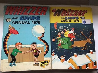 Whizzer And Chips Annuals X2