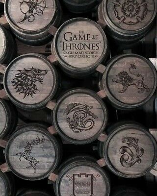 LAST ONE !!!Game Of Thrones Scotch Collectibles - Nearly Full Set + White Walker