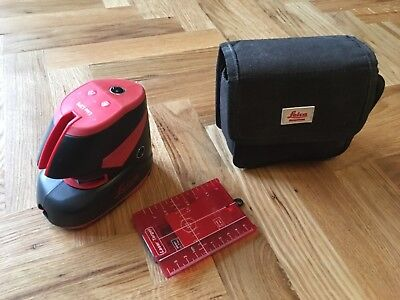 Leica Point and Line Laser Level Lino L2P5 Self-Leveling Vertical Horizontal