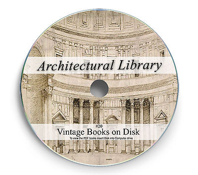 Gothic Medieval Design Architecture Rare Books on DVD Cathedral Castle Church 20