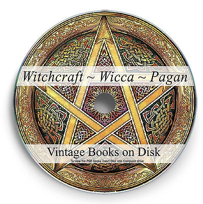 Rare Books Paganism Pagan Witchcraft DVD Wicca Symbols Witches Spells Occult 294