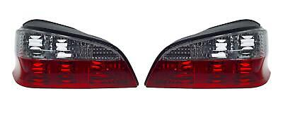 Peugeot 106 96- Crystal Red Clear M3 Style Rear Back Tail Lights