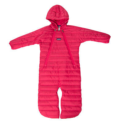 PATAGONIA Down Quilted Snowsuit Size 12M Elasticated Cuffs Hooded RRP €170