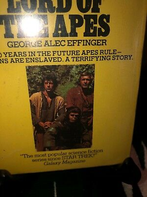 Planet of the Apes Paperback Book Lord of the Apes