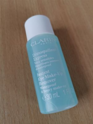 Clarins Instant Eye Make Up Remover Cleanser for Heavy Waterproof Make-Up 30ml