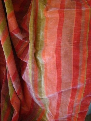 2 Curtains French vintage silk velvet fabric . 1970 time. hanging passementery