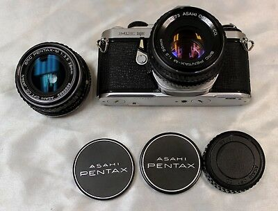 Pentax ME super with Pentax  50 mm f/2 and 28 mm f/3.5 Lenses