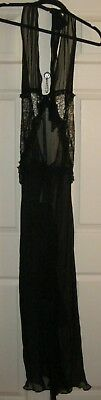Victoria's Secret Designer Collection Chantilly Lace & Silk Gown Slip L NWT $398