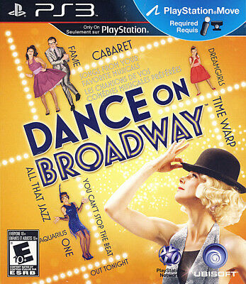 Dance on Broadway (Playstation Move) (Bilingual Cover)
