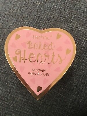 Technic Brand New Baked Hearts Pink Blusher Powder 9g