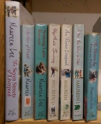 MAUREEN LEE: collection of 7 adult fiction books