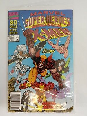 Marvel Super-Heroes Vol 2 #8 NM Larsen Ditko Starlin 1st Squirrel Girl X-Men