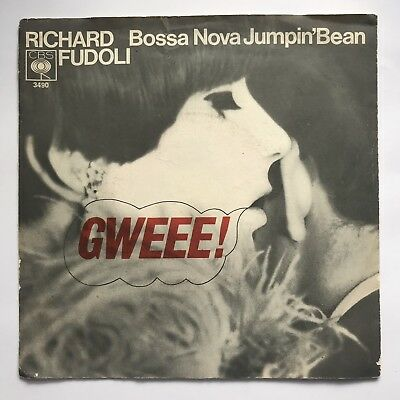 Richard Fudoli - Gweee! / Bossa Nova Jumpin' Bean Vinyl Single 7""