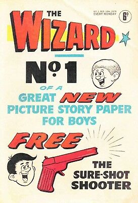 THE WIZARD #1-437 COMPLETE DIGITAL COLLECTION OF 1970s BOYS' COMICS ON DVD