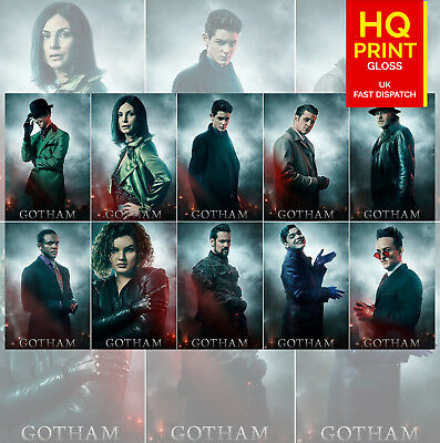 Gotham Poster Season 5 TV Series 2019 Bruno Heller Character Posters A4 A3 A2 A1