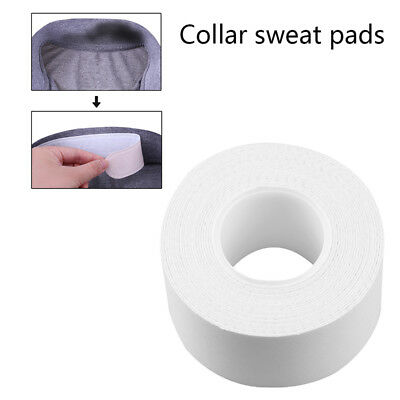 1 Roll Collar Protector Anti-sweat Disposable Women Men Sweat Pad White Tape RD