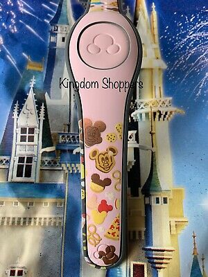Disney Parks Magic Band Magicband Snacks Dole Whip Pretzel Mickey Bar LIGHT PINK