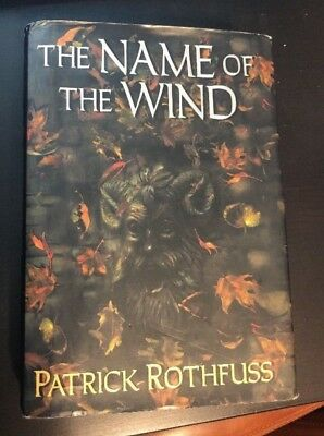 Name Of The Wind Patrick Rothfuss First Edition 1st Printing Hardcover Stone Man