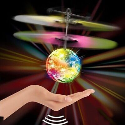 Flying RC Electric Ball LED Light Aircraft Helicopter Induction LED lanterns Toy