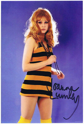 Joanna Lumley   Ab Fab - New Avengers Tv Film  Genuine Hand Signed Colour Photo