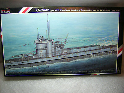 Special Navy Conversion Set Detail Set für Revell Kit U-Boot Type VIIC in 1:72