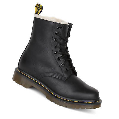 lace up in new styles half price DR.MARTENS SERENA BOOT Women's Black fur Lined Winter Boots ...