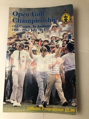 113th Open Golf Championship Programme 1984 Old Course St Andrews (144 Pages)