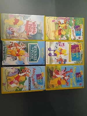 Lotto 6 VHS Winnie the Pooh